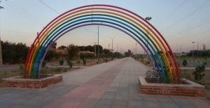 نماد پرچم همجنسبازان در اندیمشک
